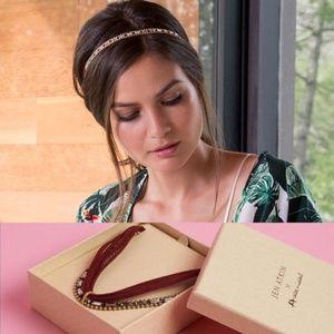 Boho Rachel Zoe-Atkin Chloe Isabel choker/hairband